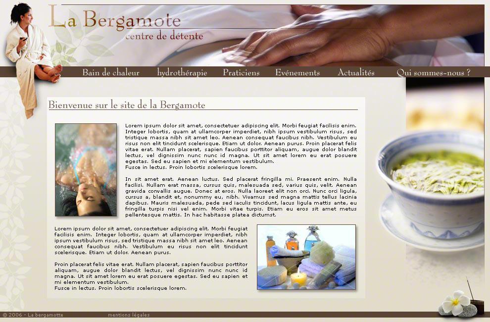 Centre de bien être 'La Bergamote'