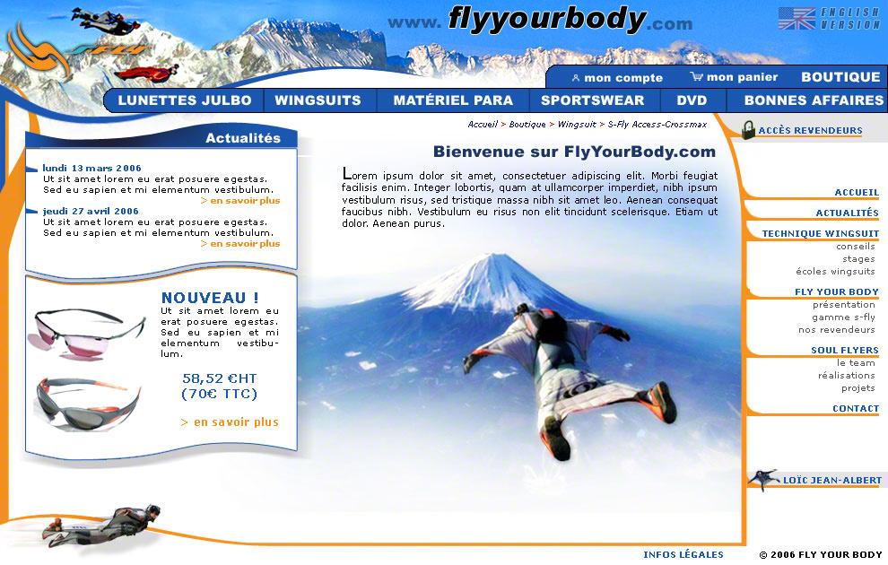 FlyYourBody
