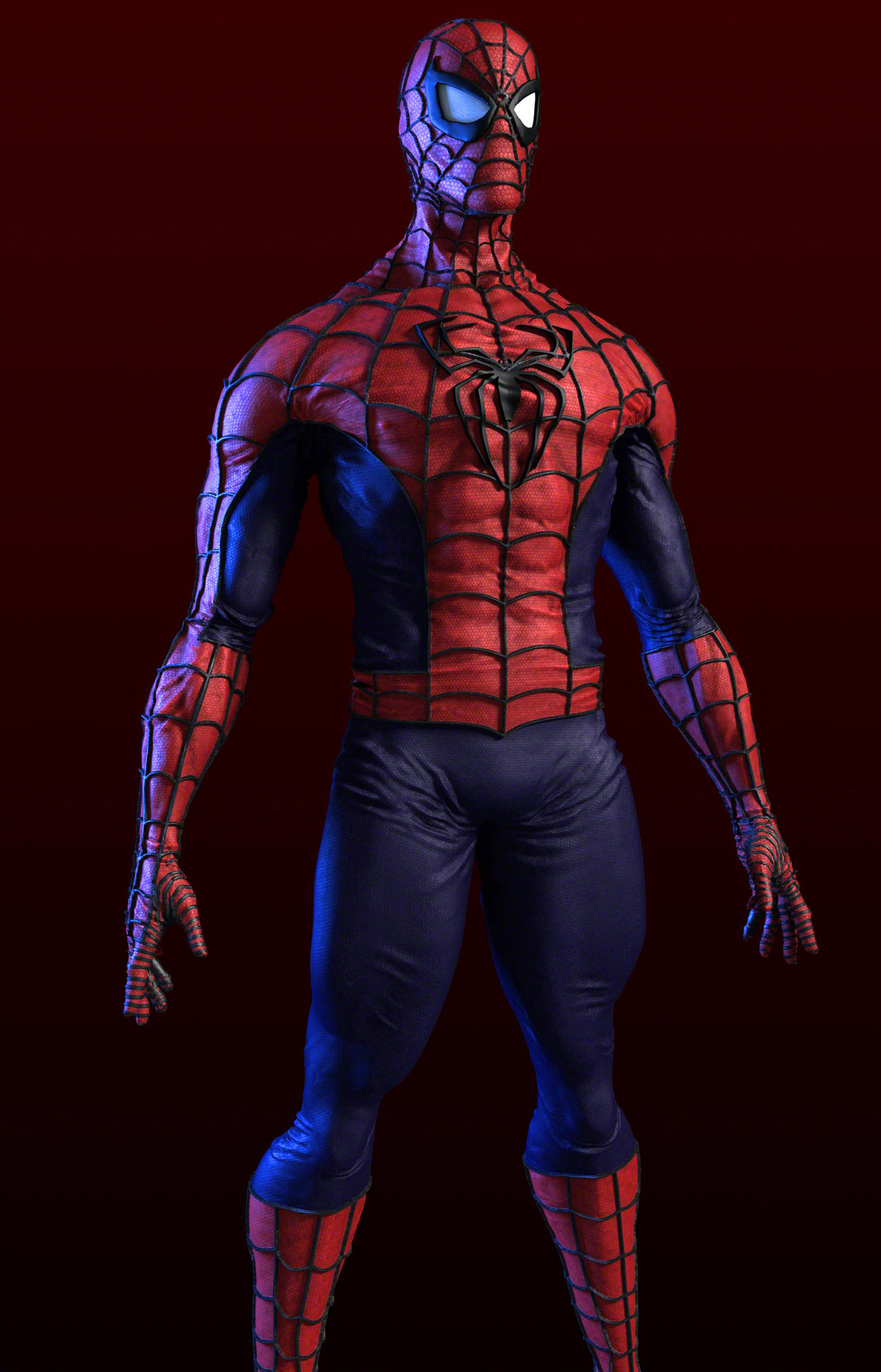 Spiderman Vray