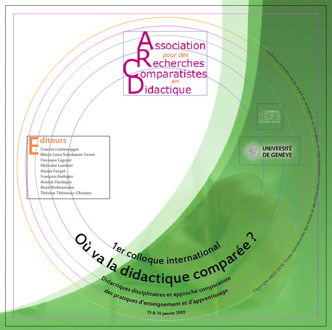 CD-rom colloque ARCD