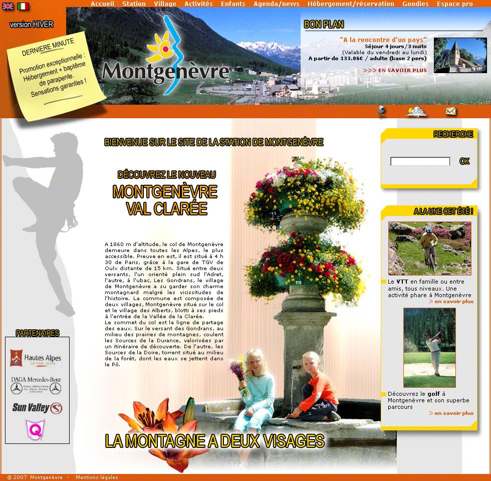 Typo3 infographiste d veloppeur multim dia - Montgenevre office de tourisme ...