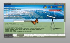 Station des 2 Alpes version été 2005
