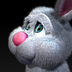 3d bunny (making of)