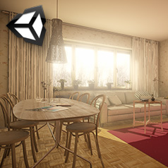 Unity 3d interior lighting