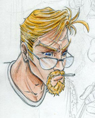Dossier Rick Stone (croquis)