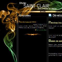 Site typo3 d'Olivier Saint Clair