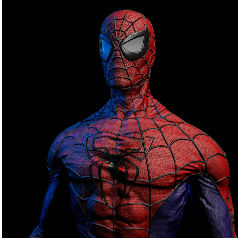 Spiderman Mental ray
