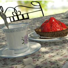 Thé au jardin