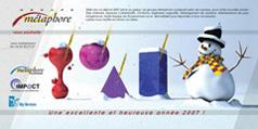 Carte de voeux Métaphore 2007