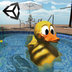 Unity 3d water test