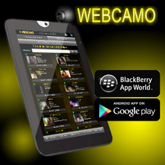 Webcamo Android and Blackberry